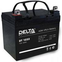 Аккумулятор DELTA DT 1233, 12V/33A*ч