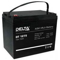 Аккумулятор DELTA DT 1275, 12V/75A*ч
