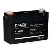 Аккумулятор DELTA DT 4035, 4V/3,5A*ч