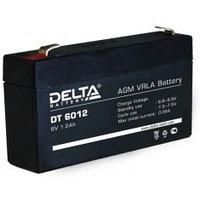 Аккумулятор DELTA DT 6012, 6V/1,2A*ч