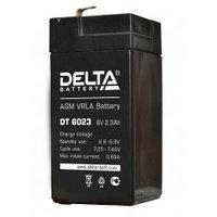 Аккумулятор DELTA DT 6023, 6V/2,3A*ч