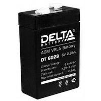 Аккумулятор DELTA DT 6028, 6V/2,8A*ч