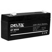 Аккумулятор DELTA DT 6033, 6V/3,3A*ч