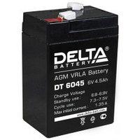 Аккумулятор DELTA DT 6045, 6V/4,5A*ч