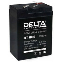 Аккумулятор DELTA DT 606, 6V/6A*ч