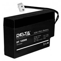 Аккумулятор DELTA DT 12008, 12V/0,8A*ч