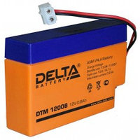 Аккумулятор DELTA DTM12008, 12V/0,8A*ч