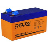 Аккумулятор DELTA DTM12012, 12V/1,2A*ч