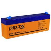 Аккумулятор DELTA DTM12022 (103), 12V/2,2A*ч