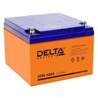 Аккумулятор DELTA DTM1226, 12V/26A*ч