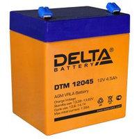 Аккумулятор DELTA DTM12045, 12V/4,5A*ч