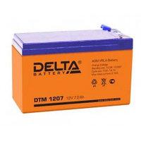 Аккумулятор DELTA DTM1207, 12V/7,2A*ч