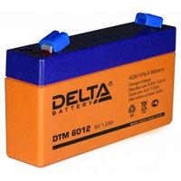 Аккумулятор DELTA DTM6012, 6V/1,2A*ч
