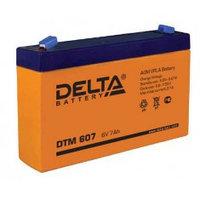 Аккумулятор DELTA DTM607, 6V/7A*ч