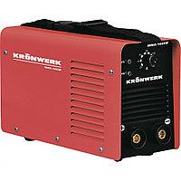 Аппарат инверторный дуговой сварки ММА-160IW, 160 А, ПВР60%, диам.эл.1,6-3,2 мм, провод 2м// KRONWERK