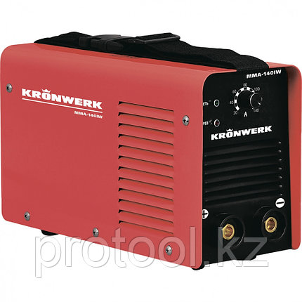 Аппарат инверторный дуговой сварки ММА-160IW, 160 А, ПВР60%, диам.эл.1,6-3,2 мм, провод 2м// KRONWERK, фото 2
