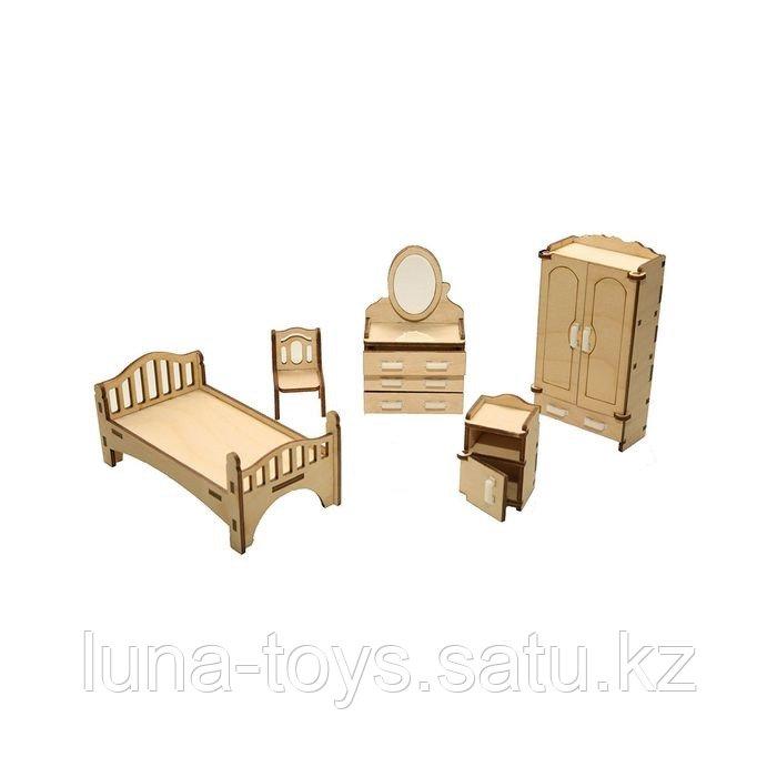 """Набор мебели """"Спальня"""" (кровать, шкаф, трюмо с зеркалом, тумбочка, стул)"""