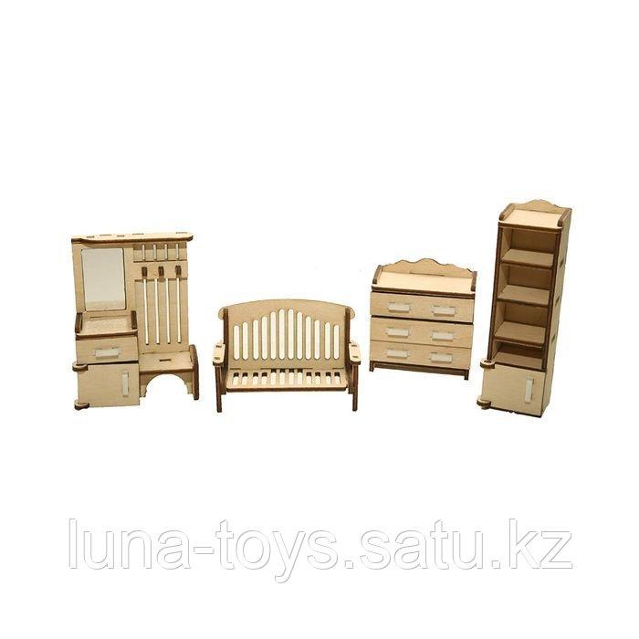 """Набор мебели """"Прихожая"""" (скамейка, комод, прихожая-вешалка, шкаф 2 шт.)"""