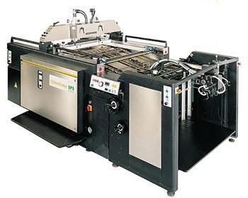Листовые машины трафаретной печати SPS CyberPress CP1