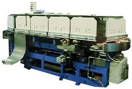 Автоматическая машина для проклейки и сушки корешка альбомного или книжного блока MBG
