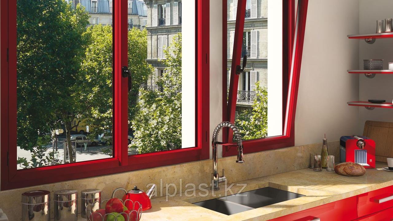 Ламинированные окна и двери ПВХ  (металлопластиковые, пластиковые)