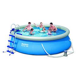 BestWay бассейн с надувным бортом (366х91)