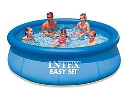 Intex бассейн с надувным бортом (305х76)
