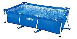 Intex Каркасный прямоугольный бассейн (260x160x65)