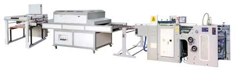 Машины трафаретной печати и Уф-лакировки JB-720