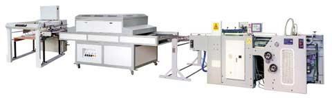 Машины трафаретной печати и Уф-лакировки JB-780
