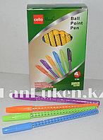 Набор шариковых ручек 50 штук в ассортименте (стержень синий 0,7 мм)