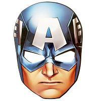 "Маска карнавальная ""Капитан Америка"""