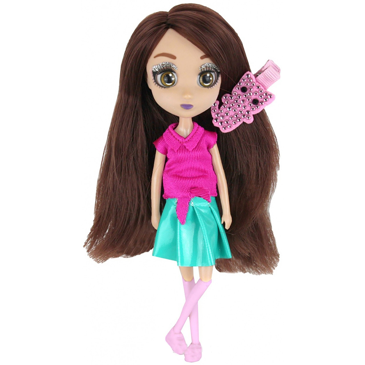 Shibajuku Girls Кукла Намика, 15 см