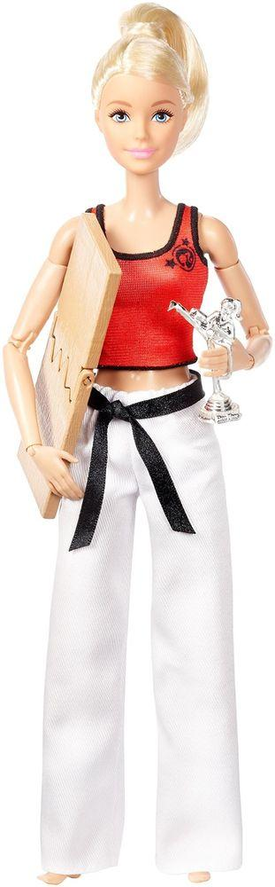 """Barbie """"Безграничные движения"""" Кукла Барби Блондинка - Мастер боевых искусств"""
