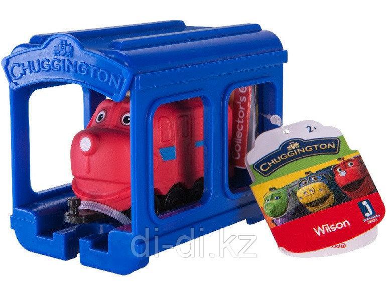 """Игрушка """"Паровозик Уилсон с гаражом"""" (ЧАГГИНГТОН) Chuggington"""