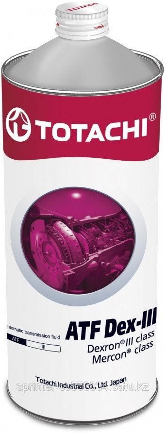 Трансмиссионное масло Totachi ATF Dex-III 1 литр