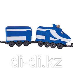 """Игрушка """"Паровозик Ханзо с вагончиком"""" (ЧАГГИНГТОН) Chuggington"""