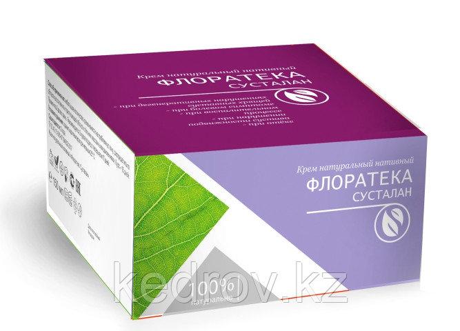 Флоратека Сусталан (для суставов, усиленный комплекс) крем натуральный нативный 150 мл.