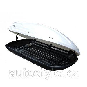 Автомобильный бокс KOFFER 430L белый глянец