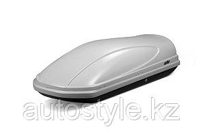 Автомобильный бокс KOFFER 430L серый матовый