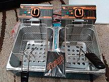 Фритюрница профессиональная на 16 литров двойная (8+8 литров)  (чикен аппарат)