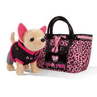 Плюшевая собачка Рок-звезда с сумкой 20 см Simba 5894842, фото 1