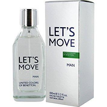 Benetton Let's Move edt 100ml