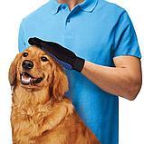 Перчатка для вычесывания шерсти домашних животных Тру Тач (True Touch), фото 3