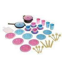 Игра 'Детский кухонный набор в рюкзаке', 38 предметов