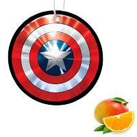 """Ароматизатор в авто """"Щит Капитан Америка"""", фруктовый драйв"""