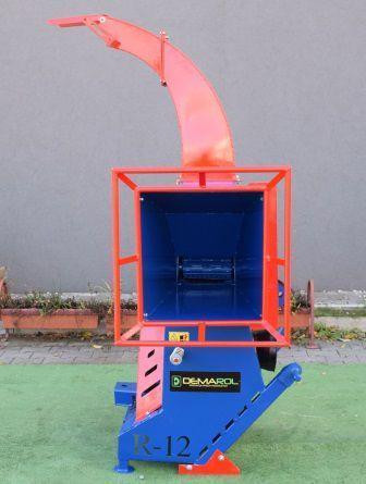 Измельчитель веток-веткодробилка барабанная, фото 2