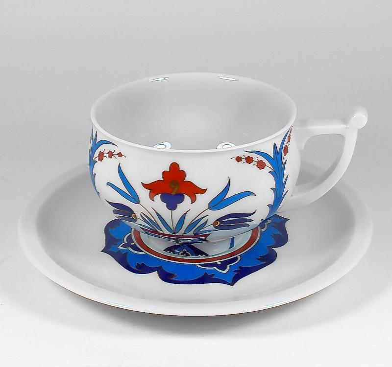 Чашка с блюдцем Гюзеллик. ИФЗ, г.Санкт-Петербург
