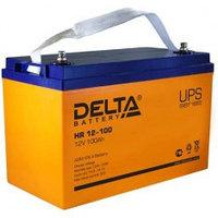 Аккумулятор DELTA HR 12-100, 12V/100A*ч