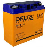 Аккумулятор DELTA HR 12-18, 12V/18A*ч